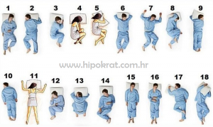 Najbolji i najgori položaji tijela za spavanje